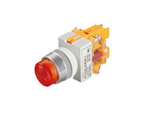 LA167-D7-11D 平钮带灯开关