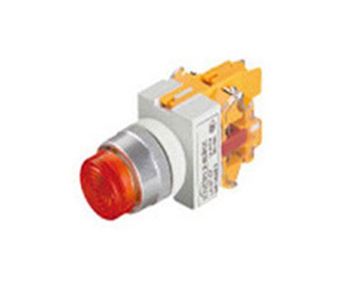LA167-D7-11TD 平钮带灯开关