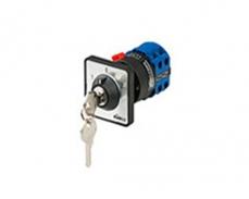 单孔面板钥匙手柄型 LW167-20A-YMK